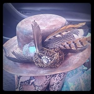 Stetson cowgirl Hat made by Rare Bird